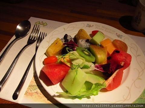 水果聊天背图可爱